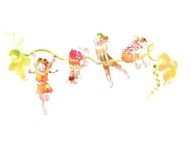 草にぶら下がる子供たち-626px-466px
