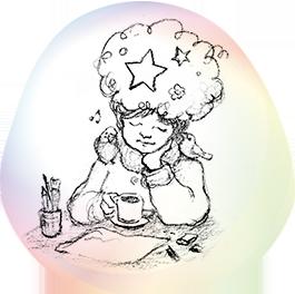 コーヒーと少女-265px-264px
